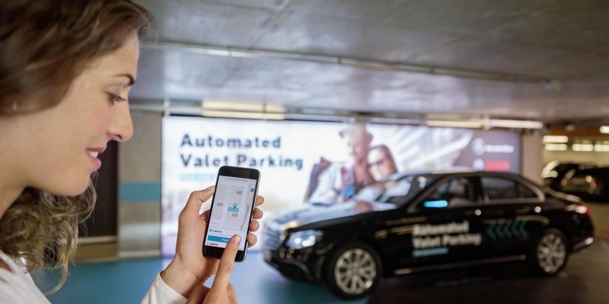 Daimler anuncia una tecnología para que tu auto se estacione solo