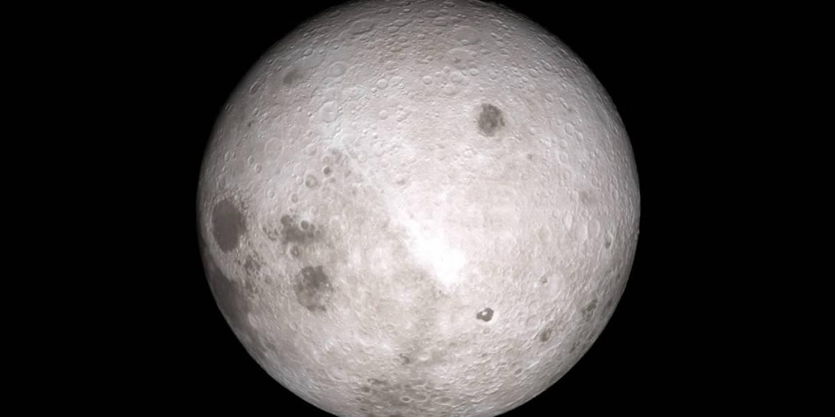 La NASA realiza espectacular animación del lado oscuro de la Luna