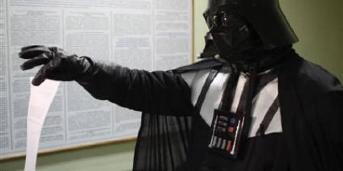 WTF? Darth Vader pide que le den tierras en Ucrania
