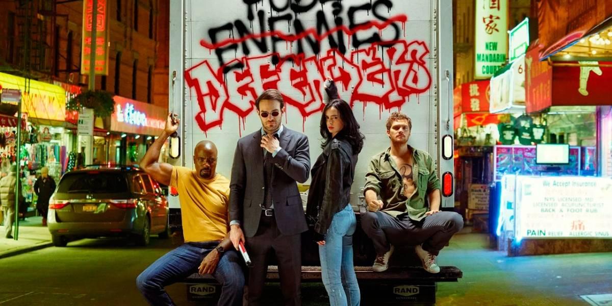 Netflix filtra un adelanto de The Defenders