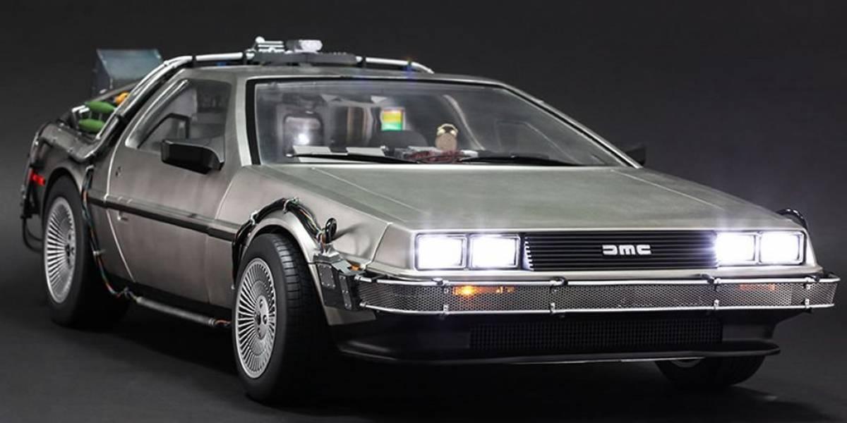 Marty McFly odiaba el DeLorean