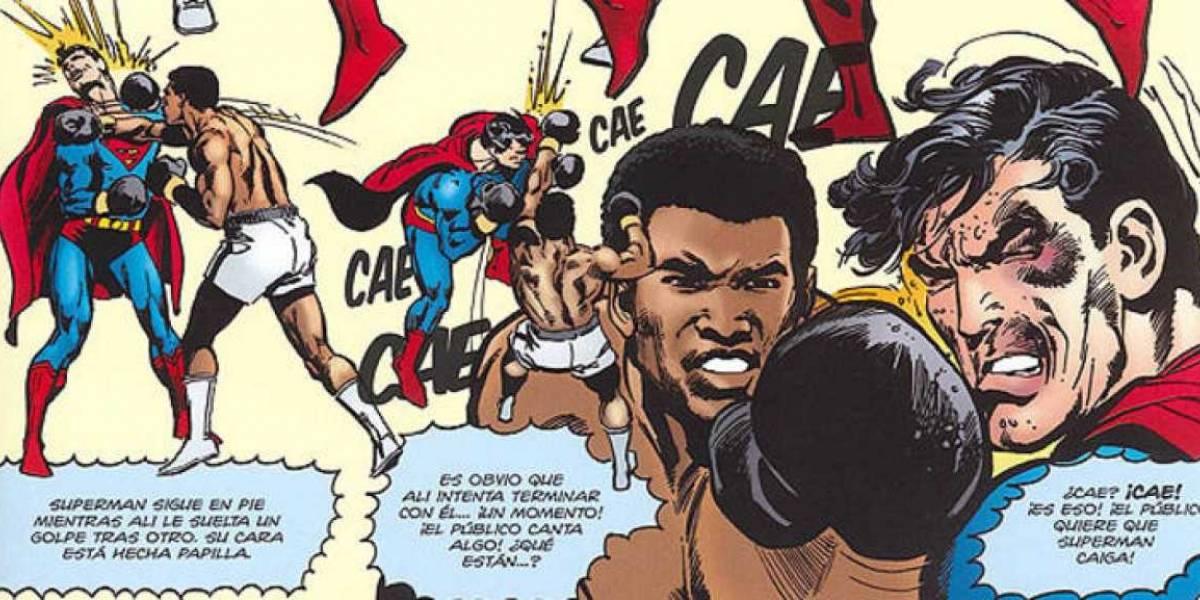 Adiós Muhammad Ali: el día que el campeón venció a Superman