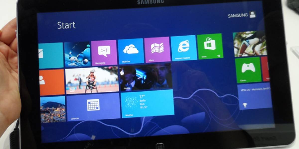 IFA 2012: Samsung ATIV Smart PC y Samsung ATIV Smart PC Pro, a primera vista
