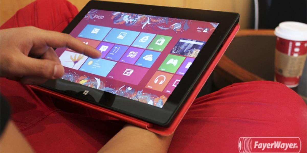 Microsoft lanza oficialmente la Surface RT en México