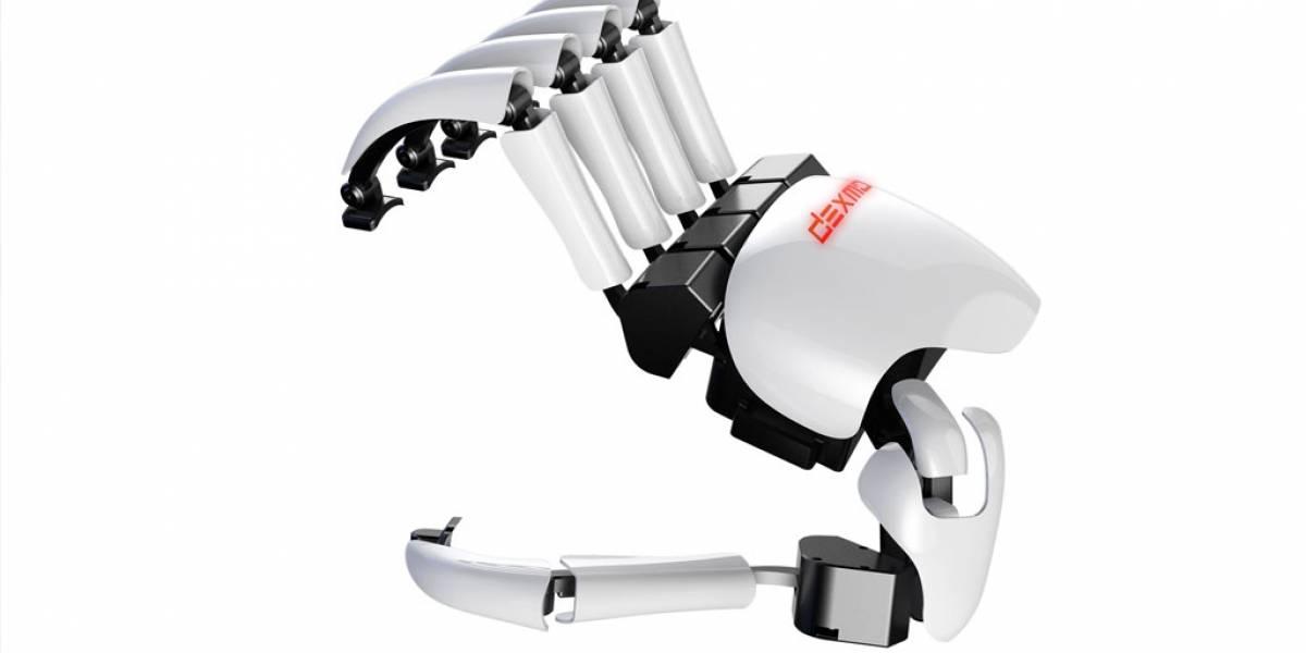 Dexmo es el guante robótico de realidad virtual que estabas esperando