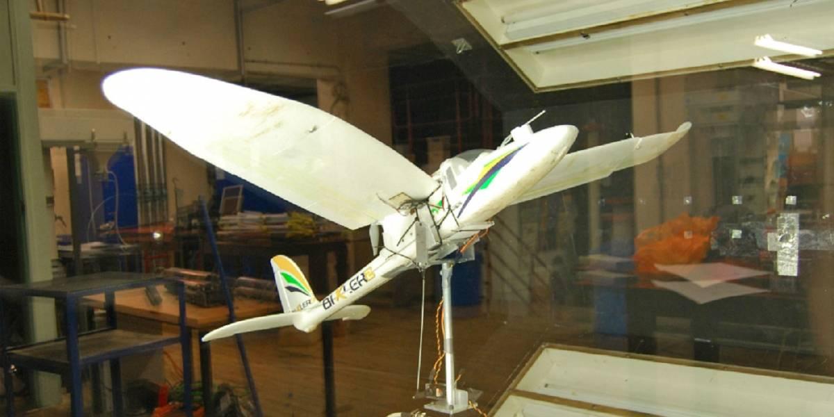 Este dron es capaz de aterrizar igual que un pájaro