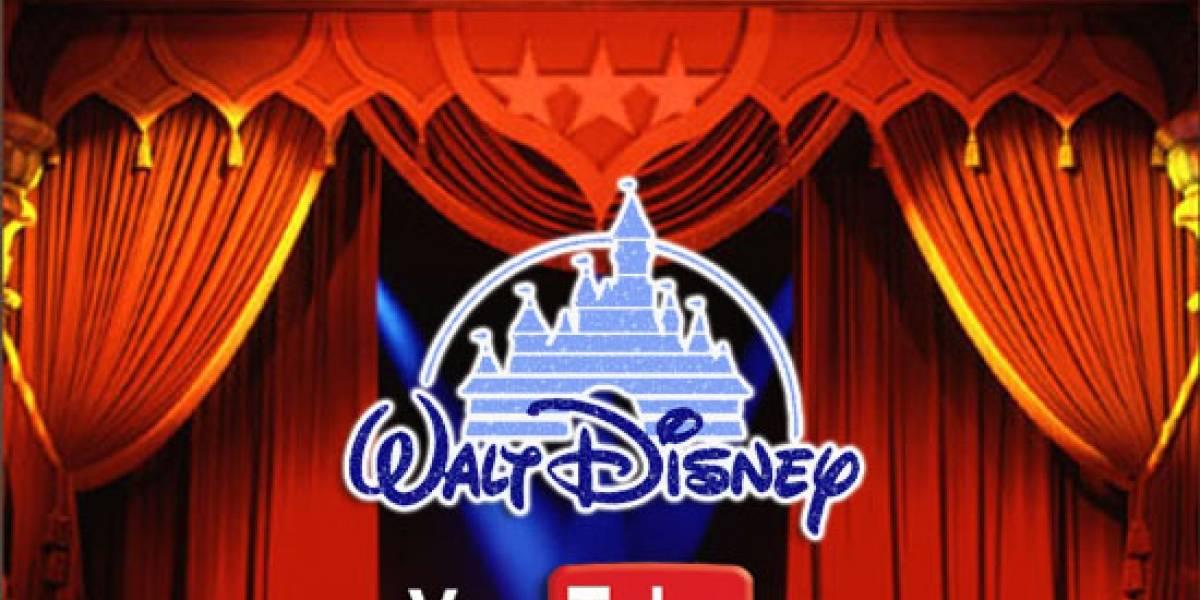 Películas de Disney ya están en alquiler en YouTube