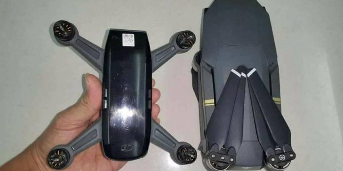 Filtran detalles del nuevo dron DJI Spark
