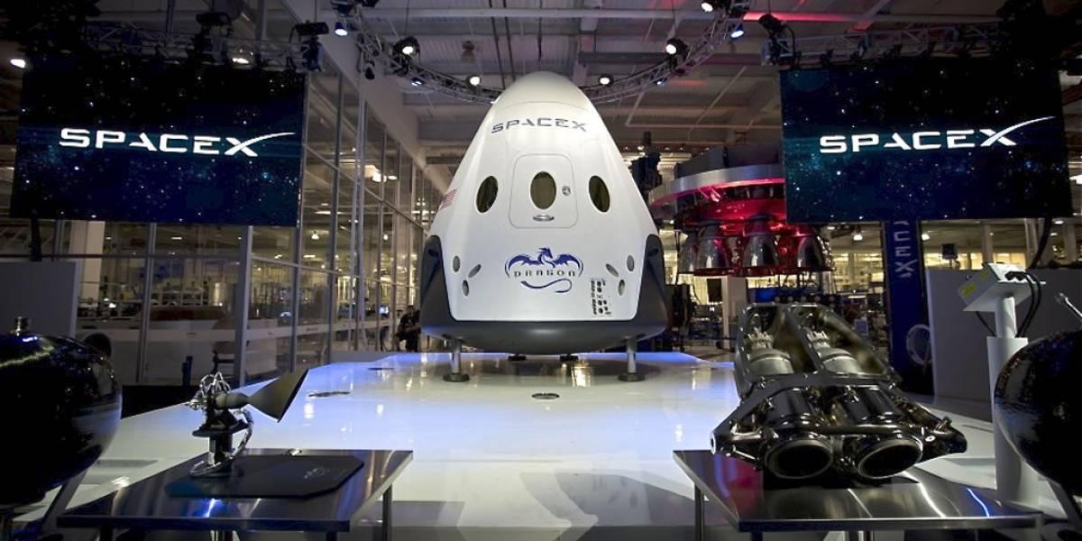 SpaceX mandará una nave a Marte en 2018