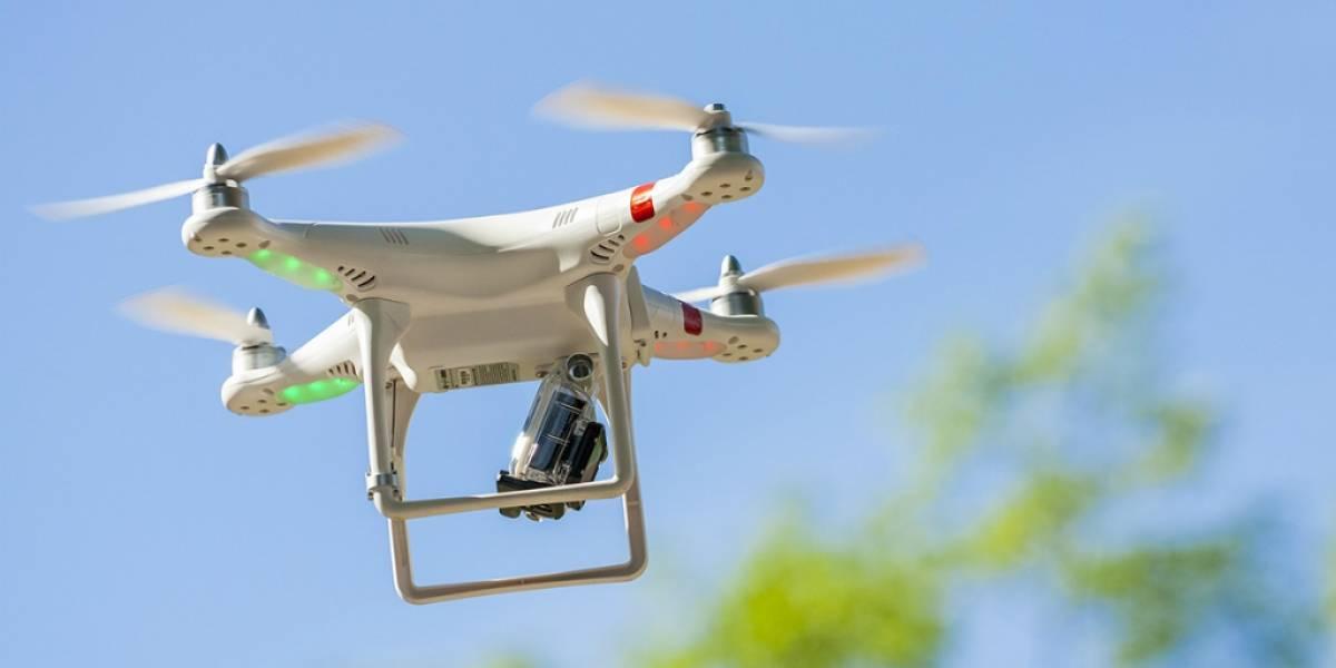En Londres están considerando usar drones para atrapar sospechosos en moto
