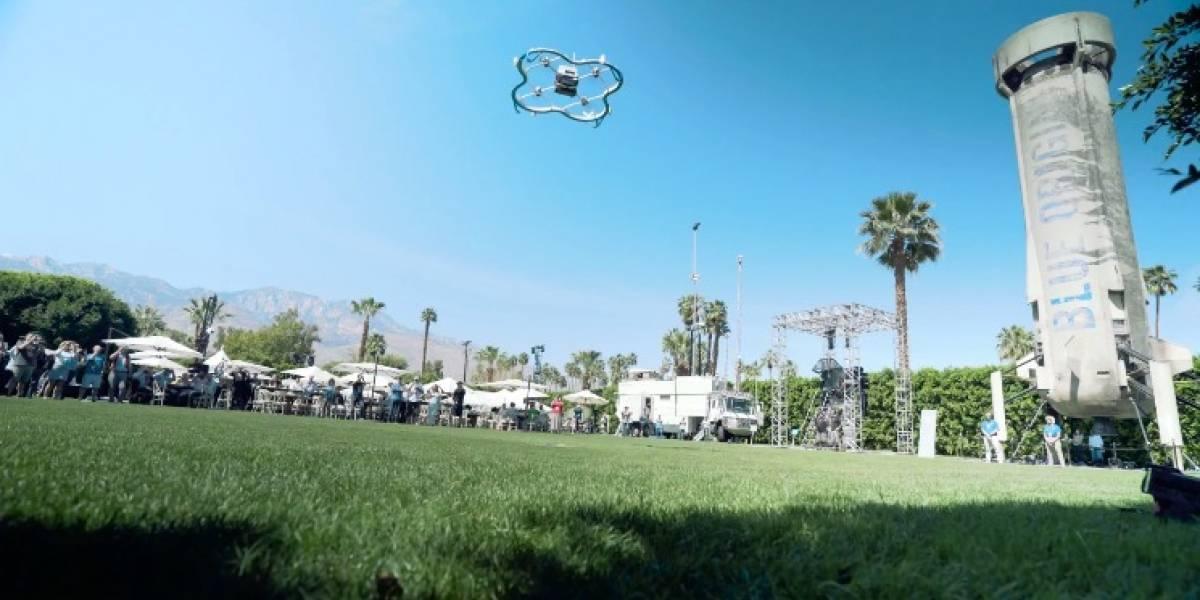 Amazon prueba su dron de entrega de pedidos en los Estados Unidos