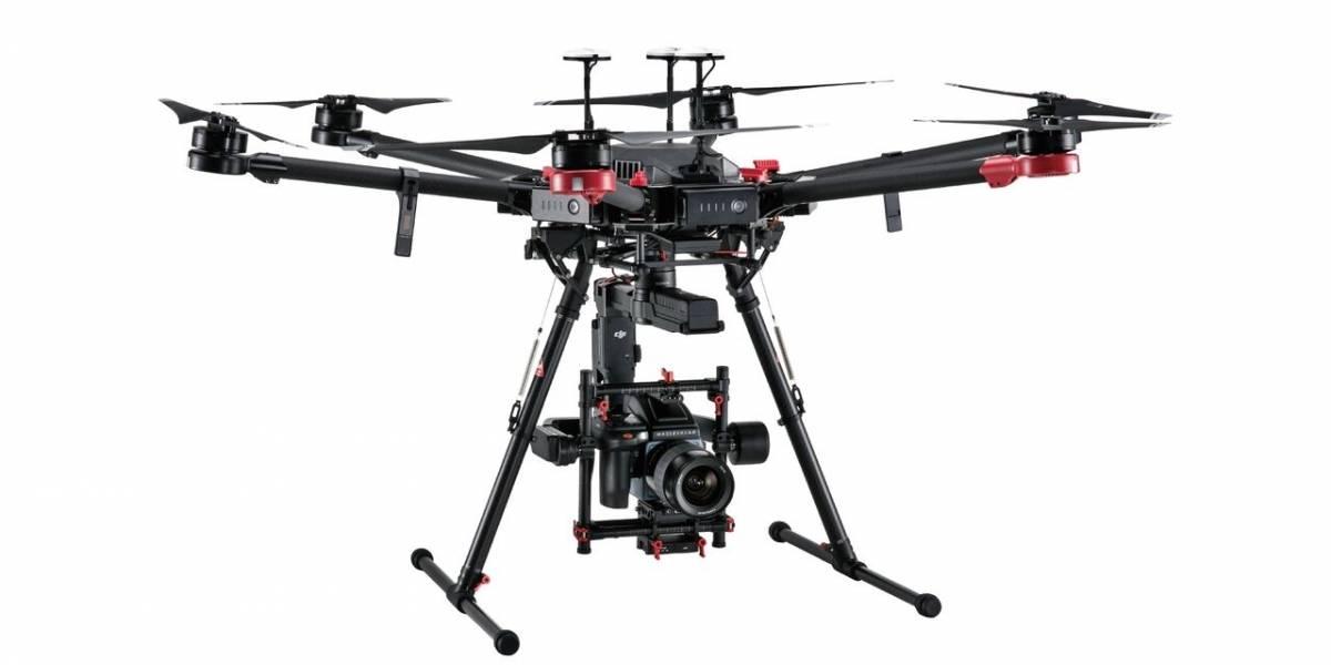 DJI lanza un dron con cámara de 100 megapíxeles