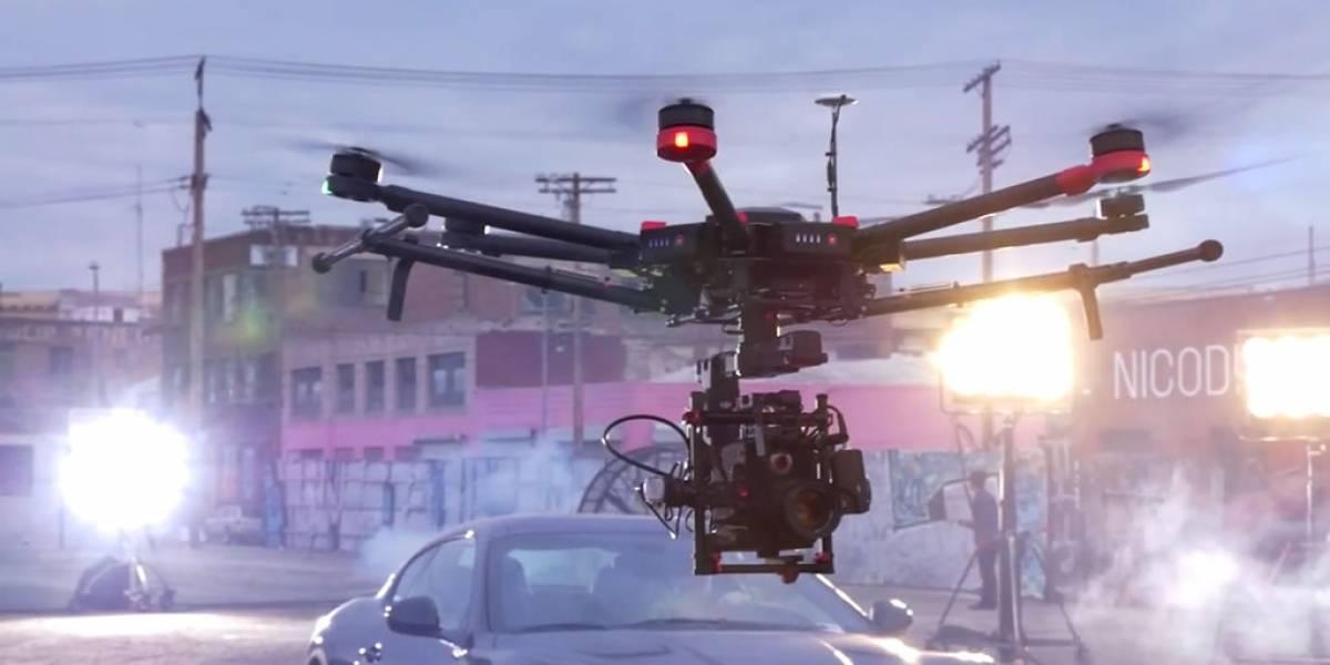 DJI lanza el poderoso dron M600, pensado para cineastas