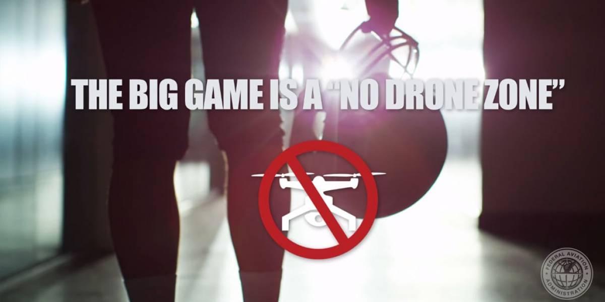 Administración Federal de Aviación restringe uso de drones en el Super Bowl LI