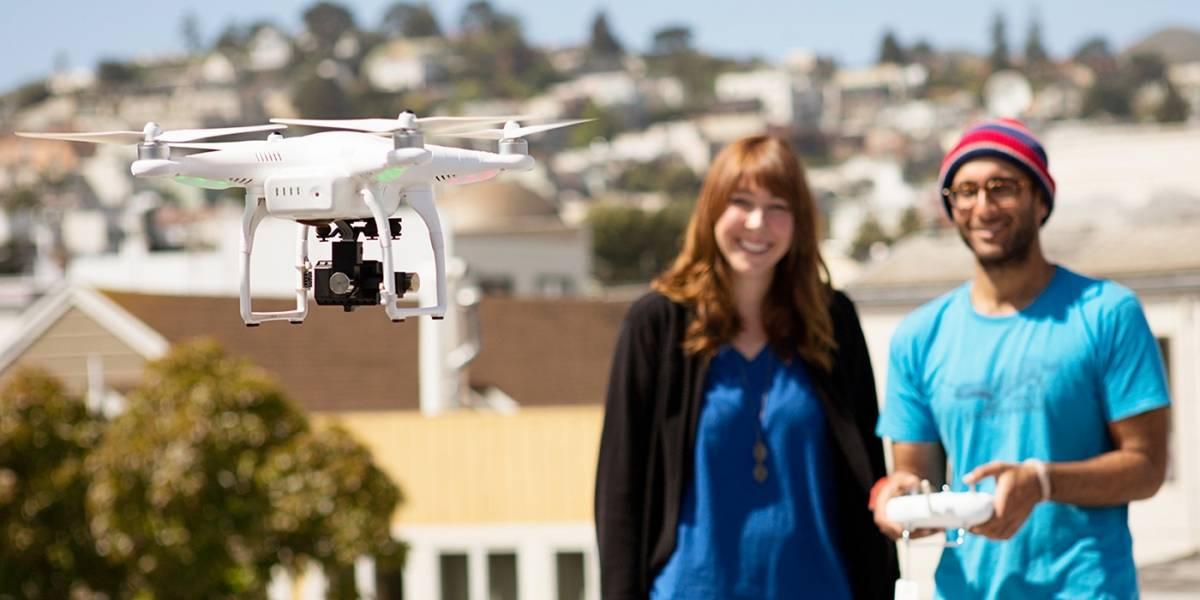 'Dronie' como nueva tendencia: 'Selfies' con drones