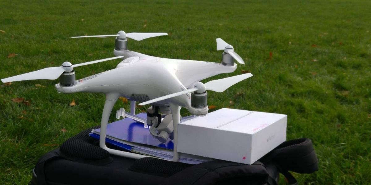Movistar usará drones para mantener fibra óptica en el norte de Chile