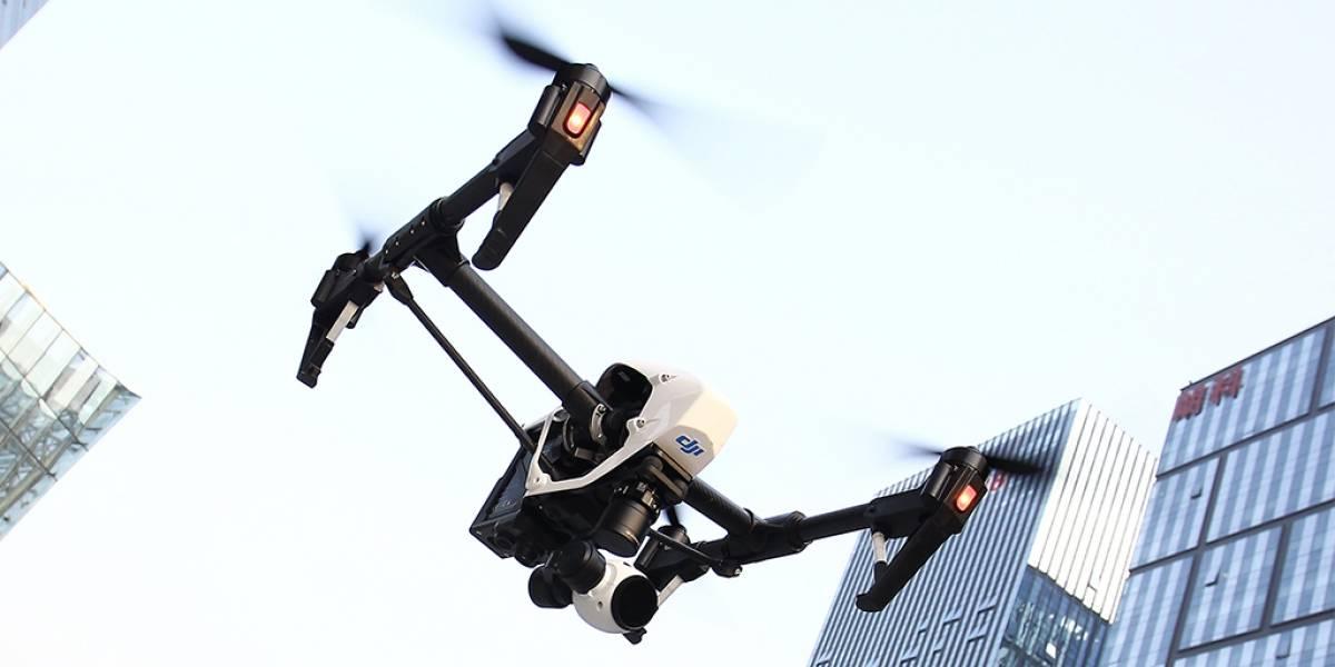 """Iniciativa """"Ojo de Cóndor"""" busca poner drones de seguridad en Santiago"""
