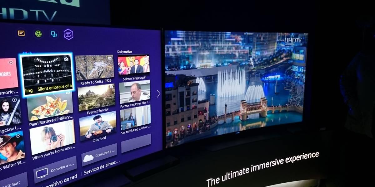Samsung presenta en Chile su nuevo televisor 4K curvo