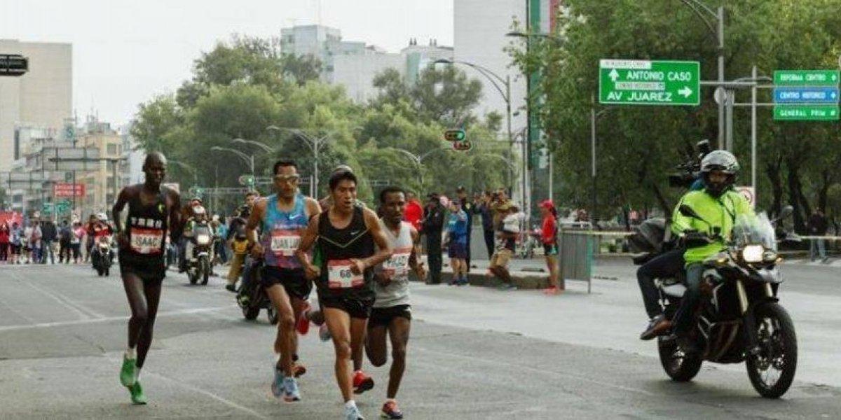 Buscan que el maratón de México sea de oro
