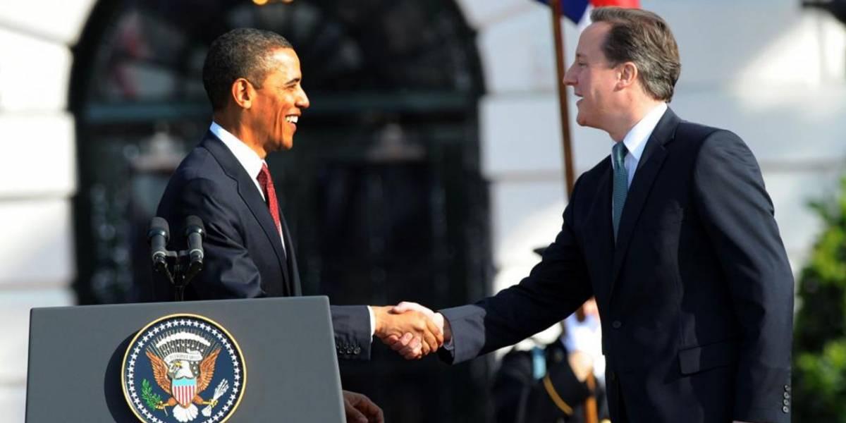 David Cameron pedirá ayuda a Barack Obama para lograr bloquear la mensajería cifrada
