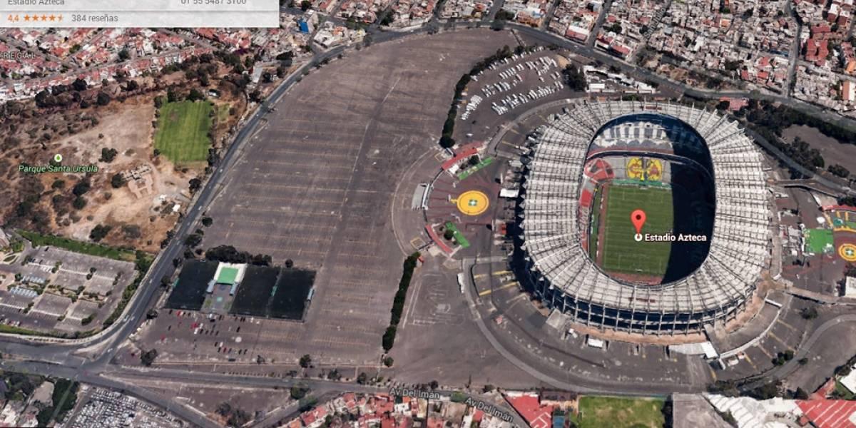 Así se ven 10 lugares de la Cd. de México en Google Maps 3D