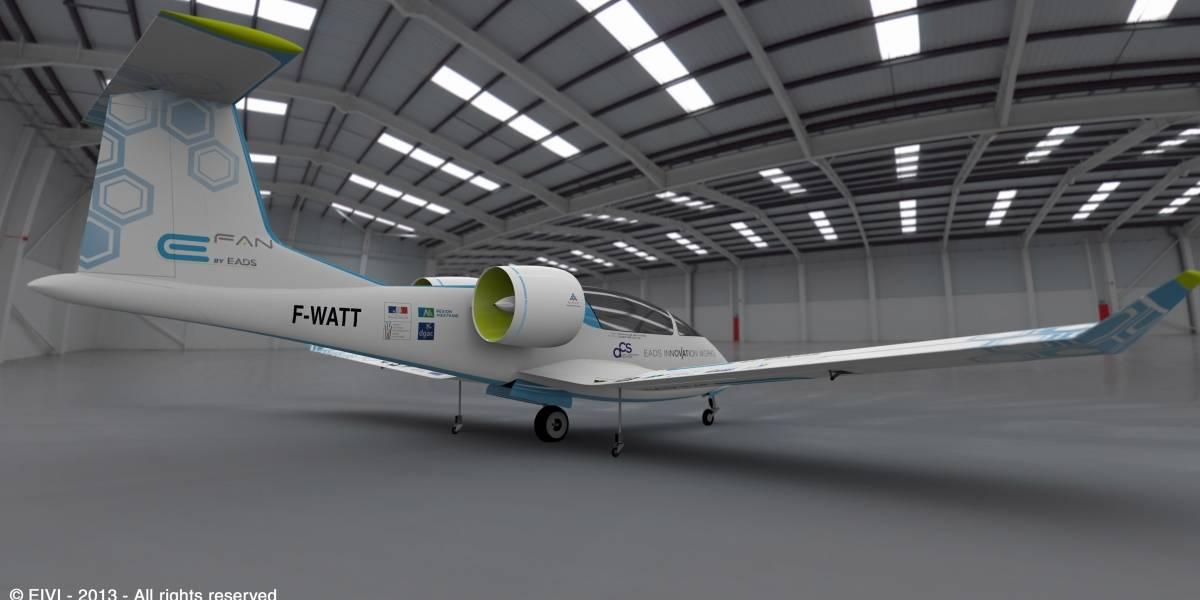 Primeros vuelos del avión eléctrico de Airbus