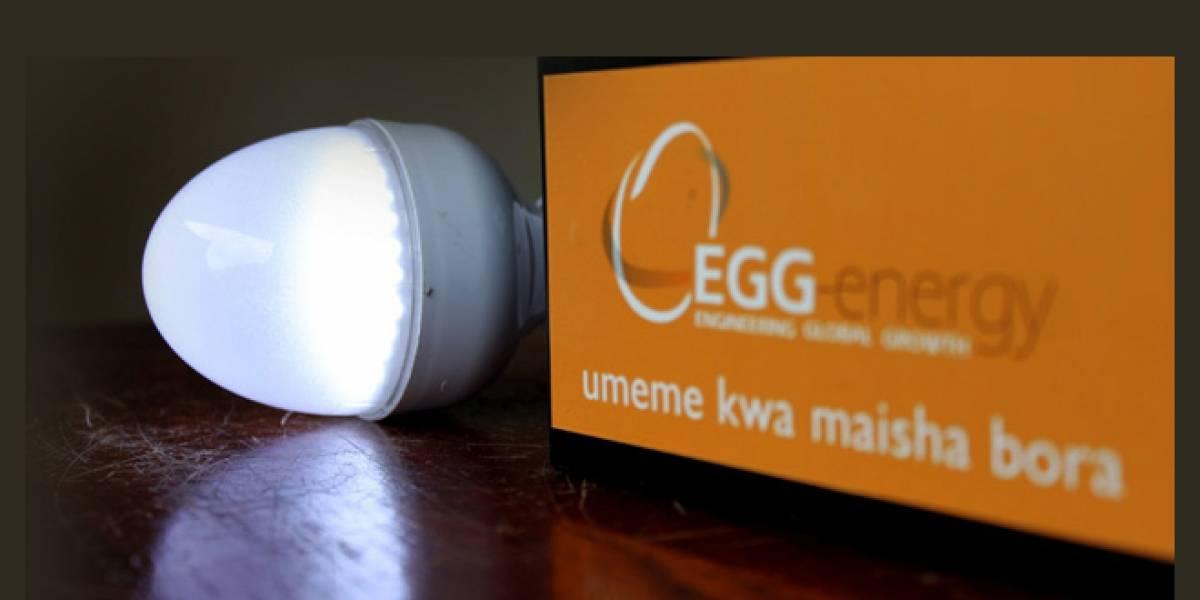 En África hay electricidad de prepago en base a baterías recargables