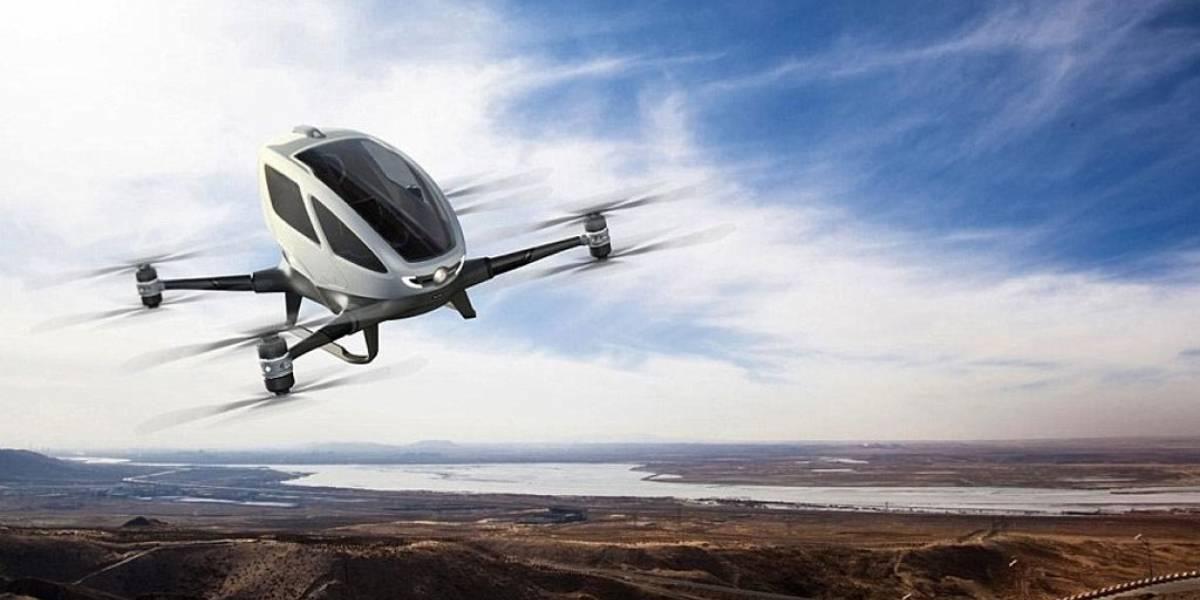 EHANG ahora construye drones para entregar órganos en hospitales