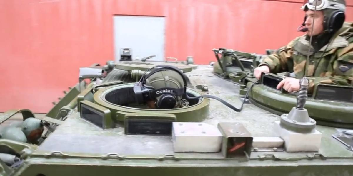 Ejército noruego prueba Oculus Rift con tanques de asalto