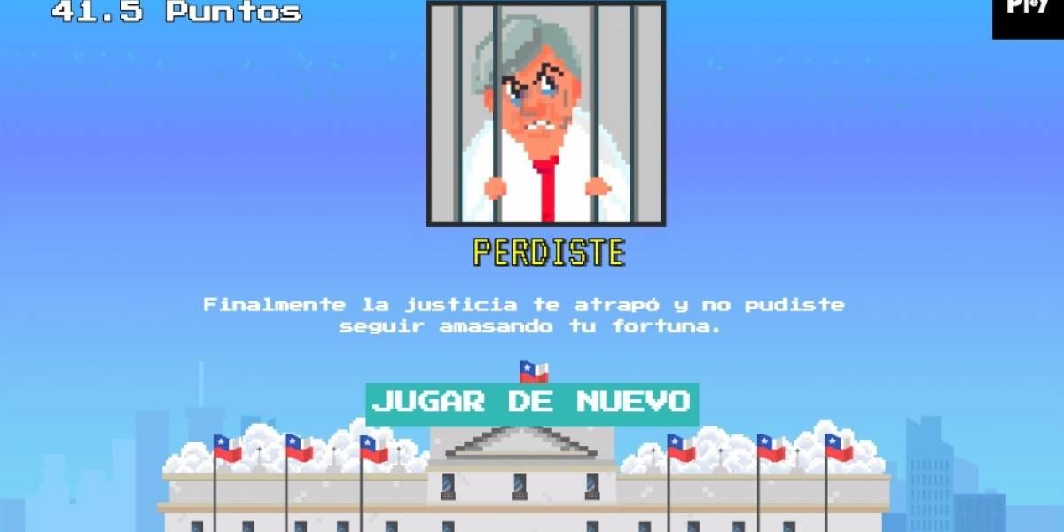 Evasor: El juego web que te permite evadir impuestos como un candidato presidencial