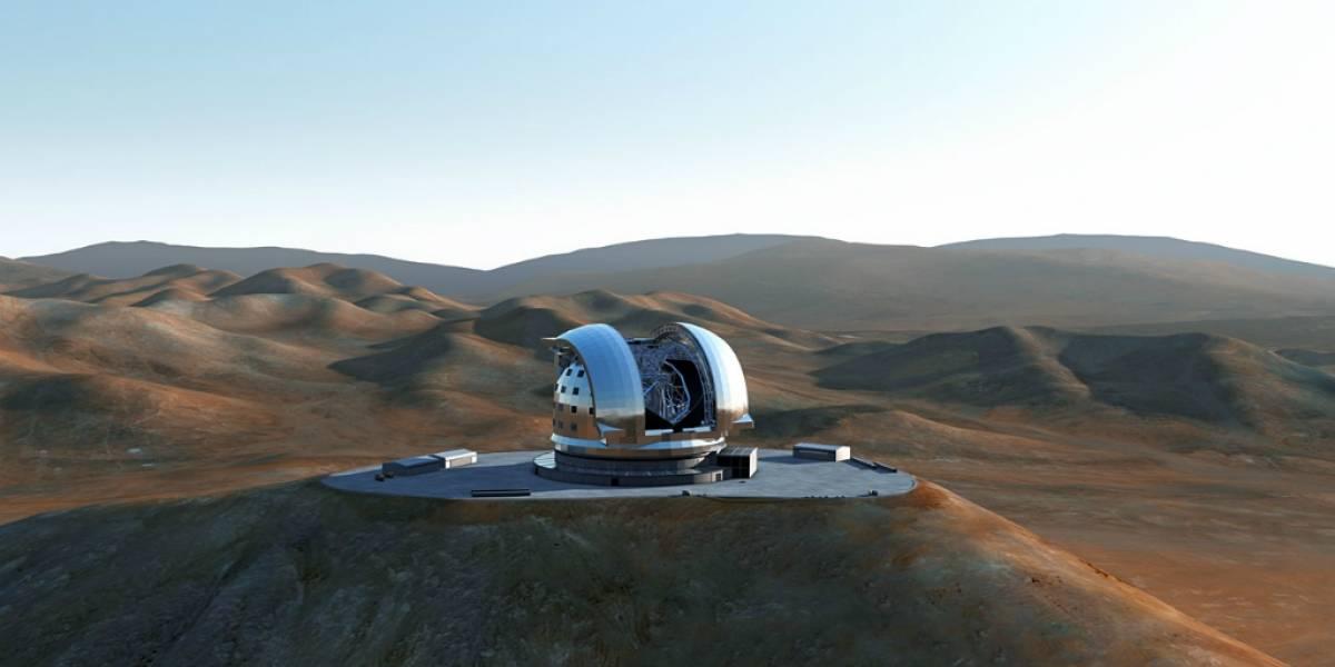 Mira la explosión del Cerro Armazones para colocar al mayor telescopio del mundo