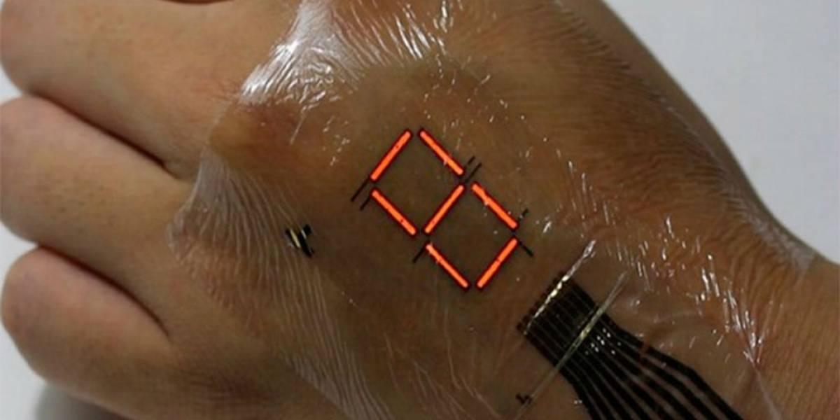 Conoce la tecnología que convierte tu piel en una pantalla