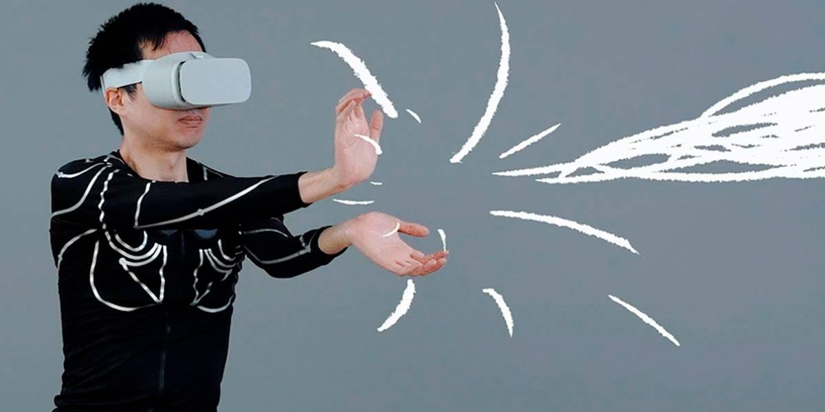 Japoneses crean camiseta para controlar dispositivos de realidad virtual