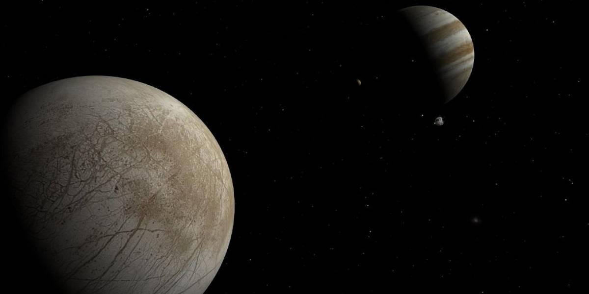 Es posible que existan géiseres en una luna de Júpiter