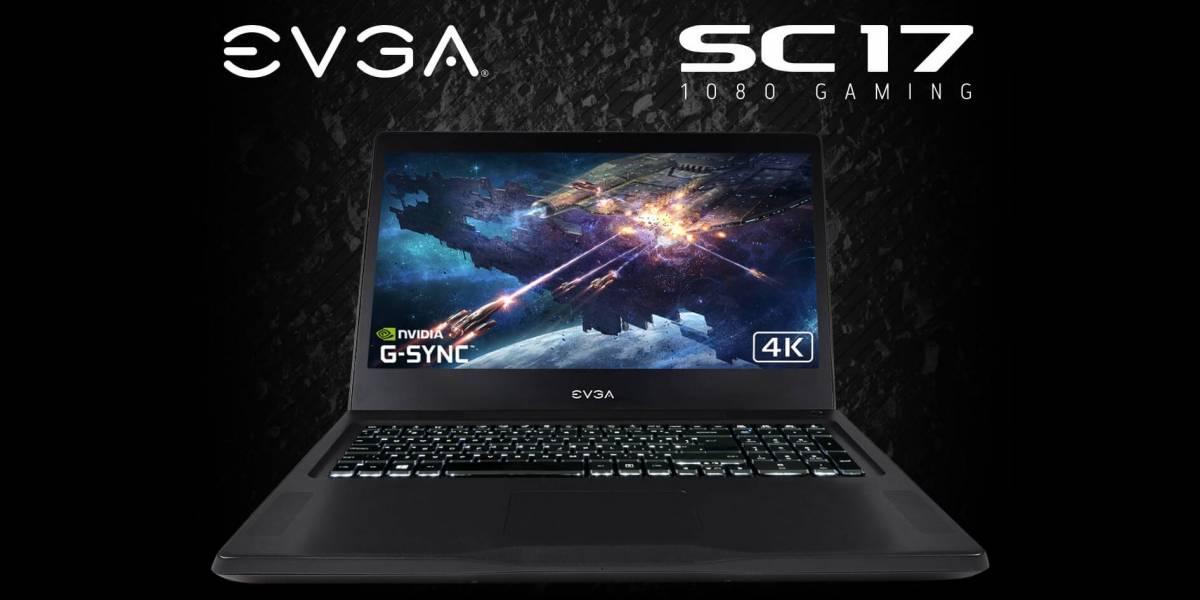 EVGA SC17 es una poderosa laptop con GeForce GTX 1080