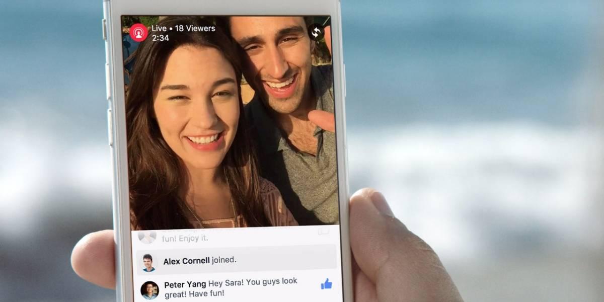 Facebook habilitará transmisiones en vivo desde el escritorio