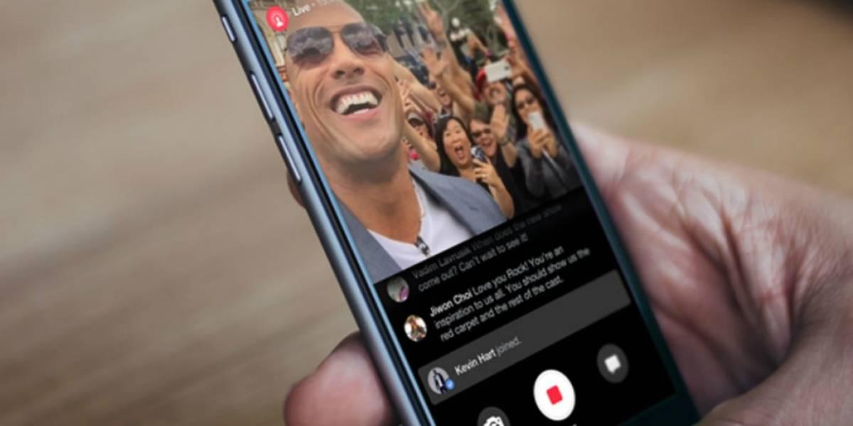 Uno de cada cinco videos compartidos en Facebook corresponden a transmisiones en vivo
