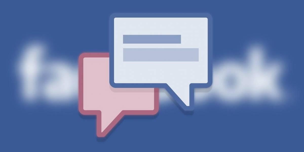 Facebook convertiría las publicaciones en conversaciones de chat
