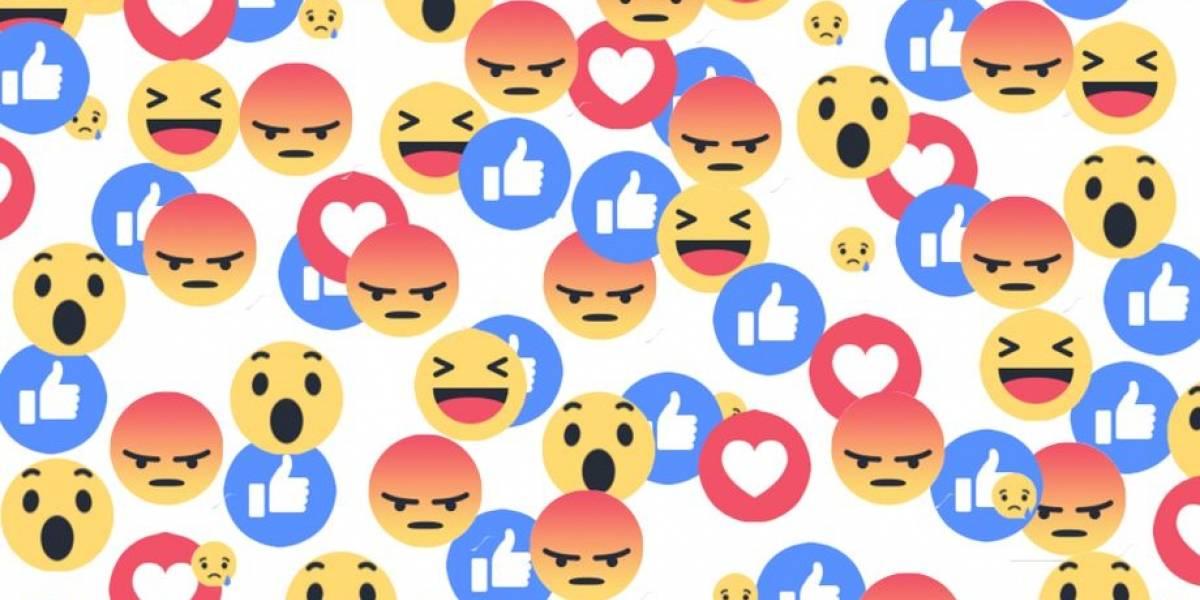 Las reacciones de Facebook llegaron también a los comentarios
