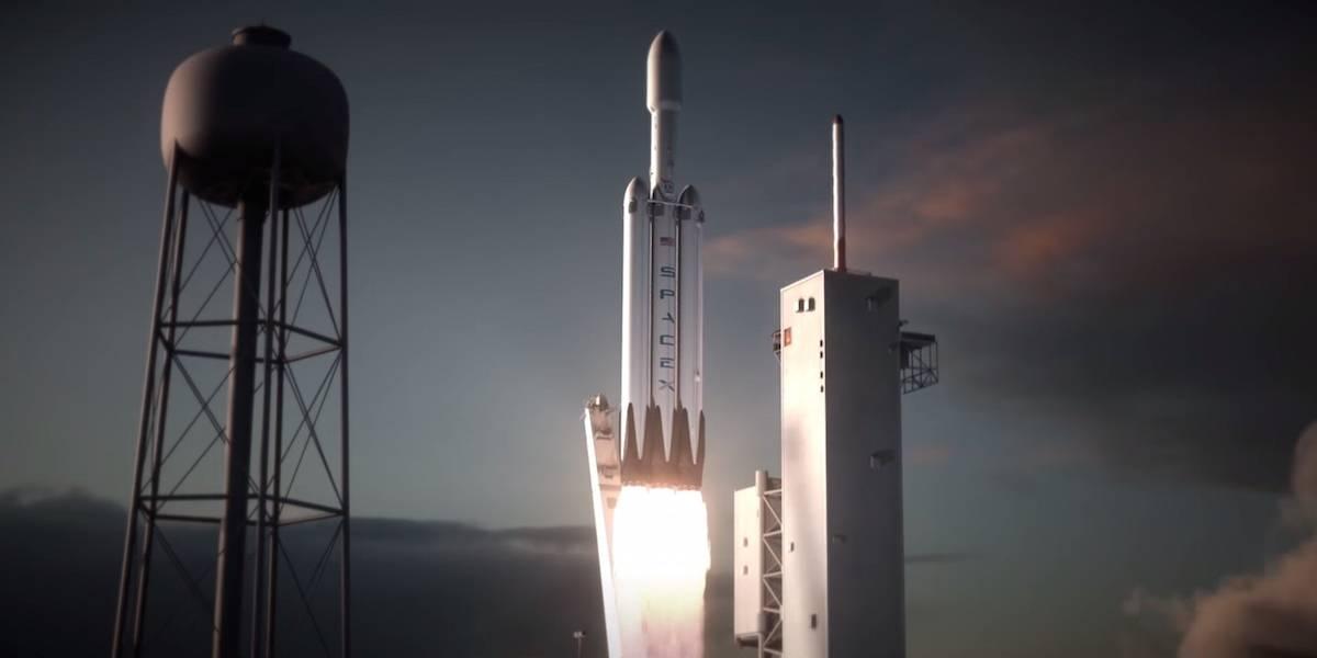 Así es cómo SpaceX intentará aterrizar el cohete más potente del mundo