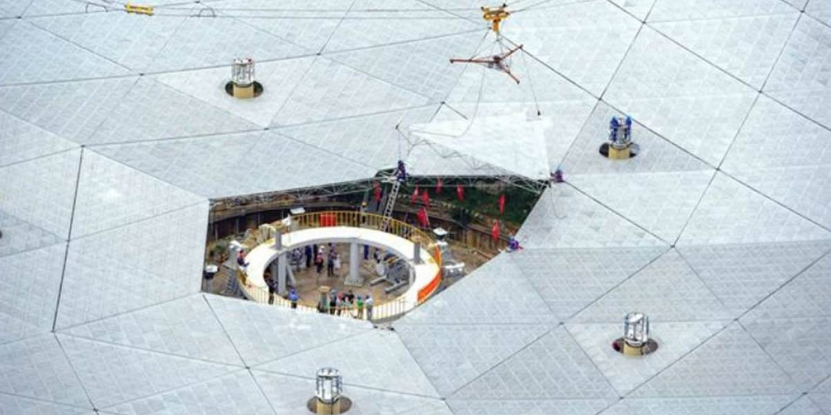 Finalizan en China la construcción del telescopio más grande del mundo