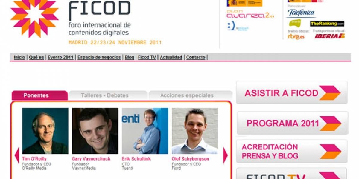 España: Los emprendedores serán los protagonistas del FICOD 2011