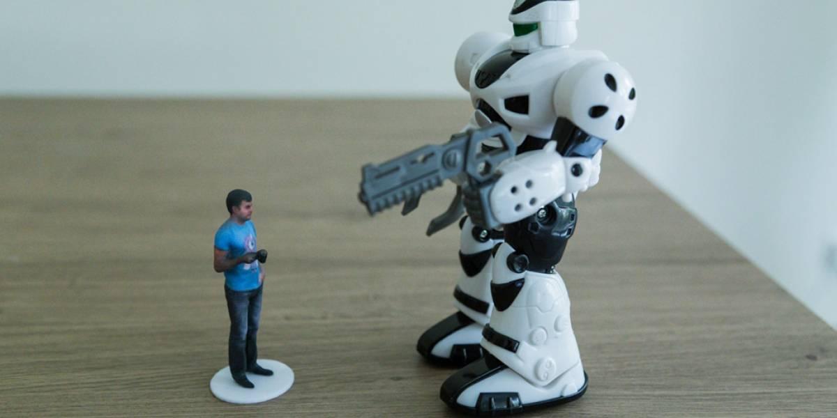 Crea una figura de acción de ti mismo usando un Kinect y una impresora 3D