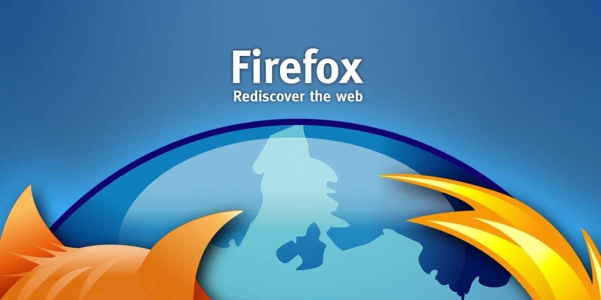 Actualiza Firefox o alguien podría robar tu información