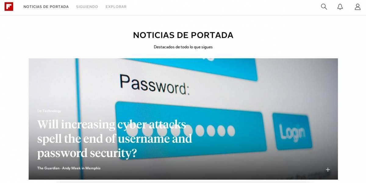 Flipboard lanza su esperada versión web