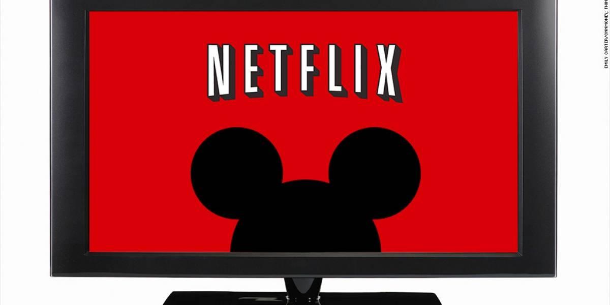 Dicen que Disney estaría interesado en comprar Netflix