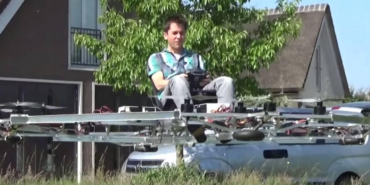 Este prototipo de vehículo volador podría ser el futuro del transporte