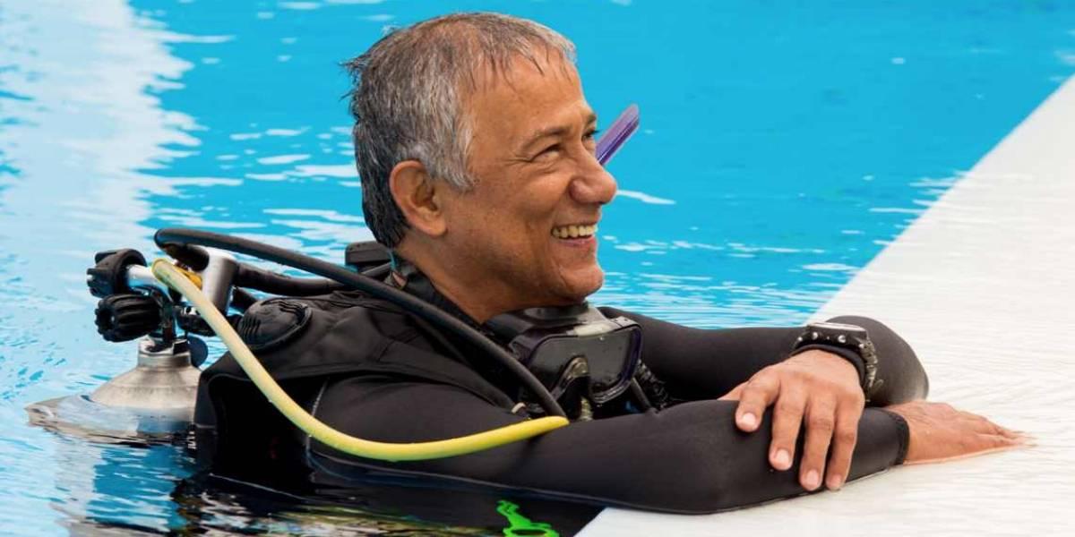 Alberto, el ingeniero apasionado por los universos submarinos