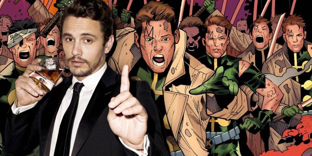 Fox quiere expandir el universo de X-Men con James Franco y Multiple Man