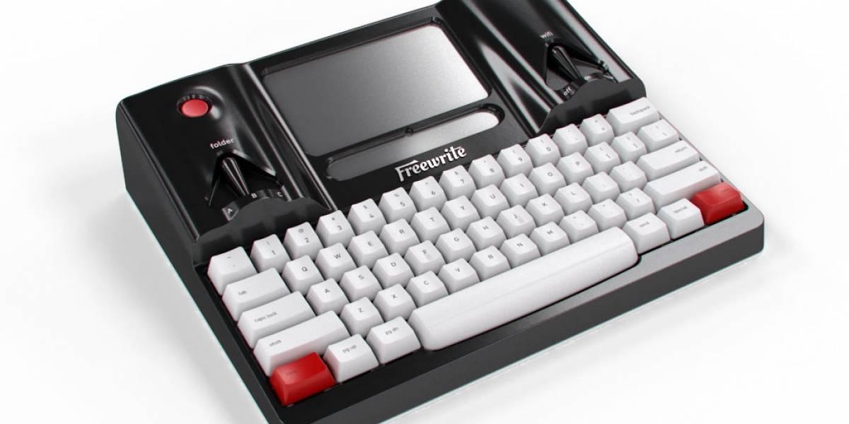 Freewrite es un gadget para escribir sin distracciones